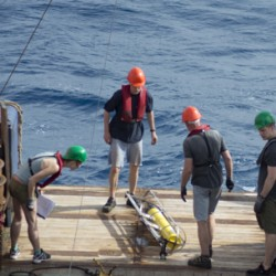 Acoustic Recorder Successfully Deployed off Cape Verde